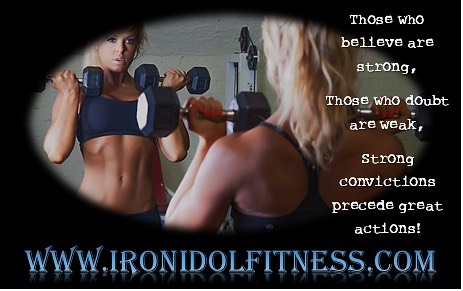 Iron Idol Fitness female client