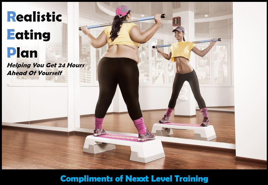 Realistic Eating Plan Compliments of Nexxt Level Training1