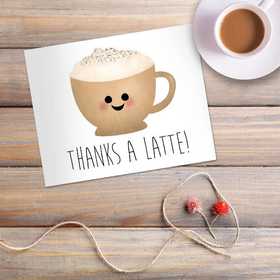 thanks for coffee